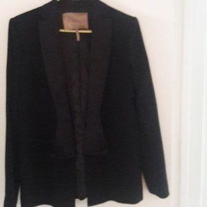Smoking Jacket very chic black size 10
